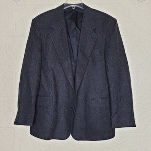 Barrington Wool Blue/Black Blazer Jacket Size 46R